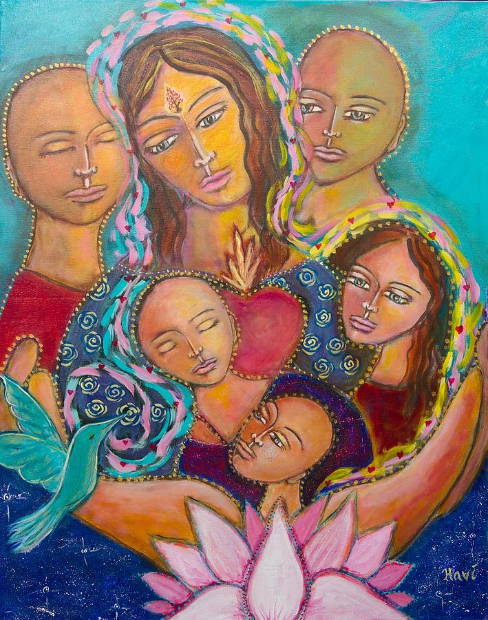 Heart Of The Family Painting