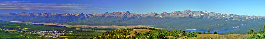 Heart Of The Sawatch Panoramic Photograph  - Heart Of The Sawatch Panoramic Fine Art Print