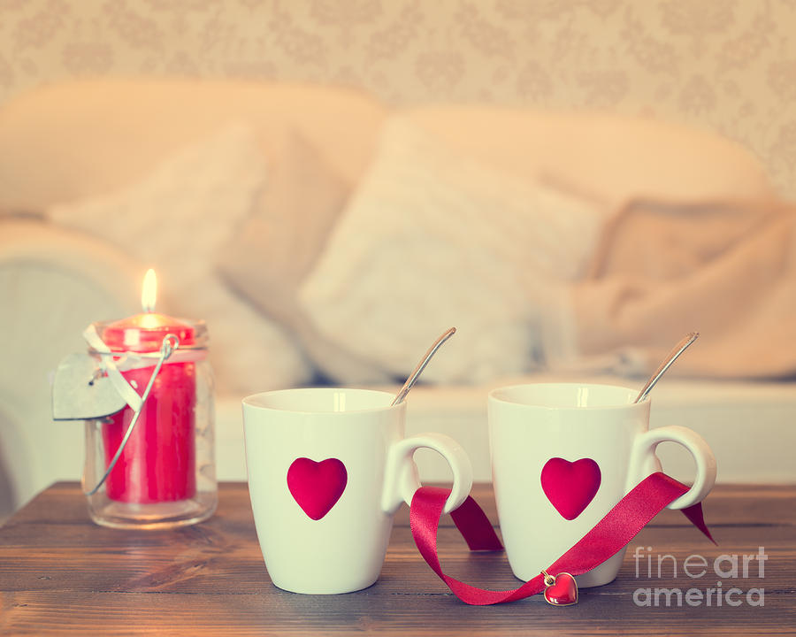 Heart Teacups Photograph