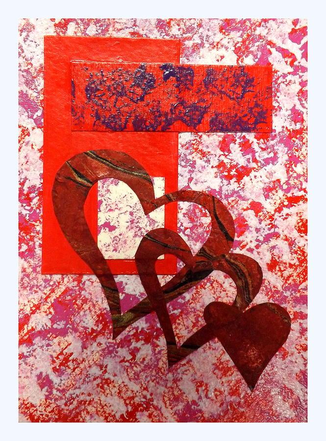 Heartfelt Thanks Painting - Heartfelt Thanks by Darren Robinson