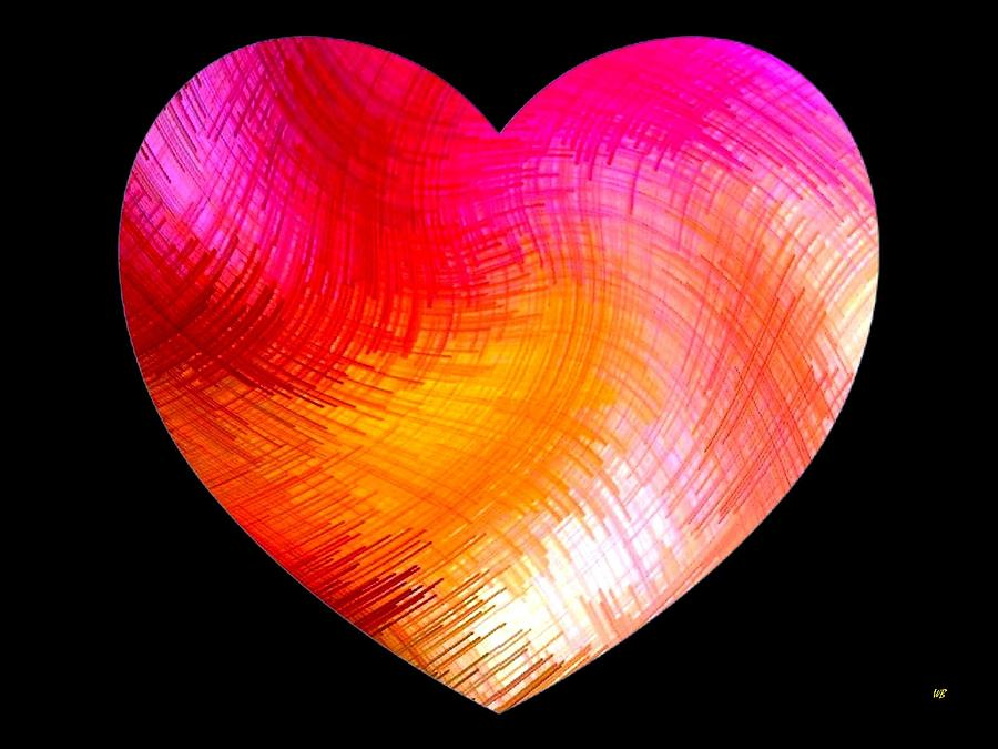 Heart Digital Art - Heartline 6 by Will Borden