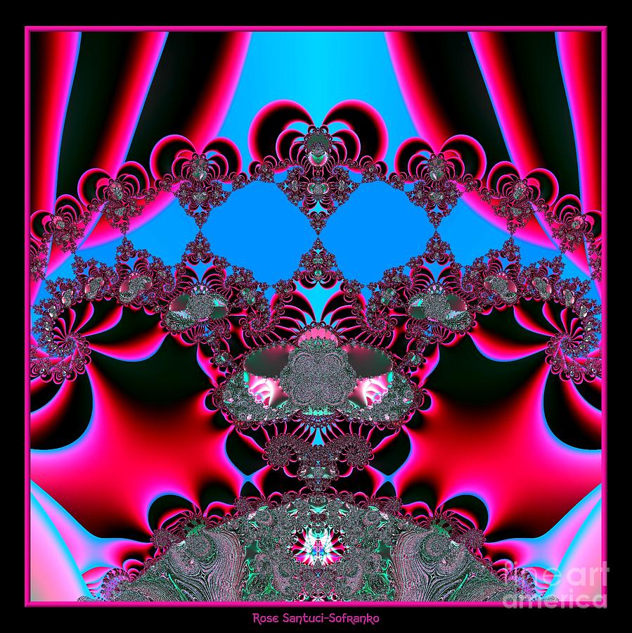 Hearts Digital Art - Hearts Ballet Curtain Call Fractal 121 by Rose Santuci-Sofranko