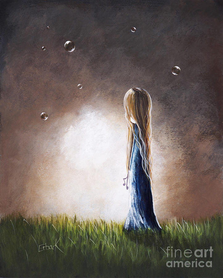 Heaven Heard Her Prayers Tonight By Shawna Erback Painting