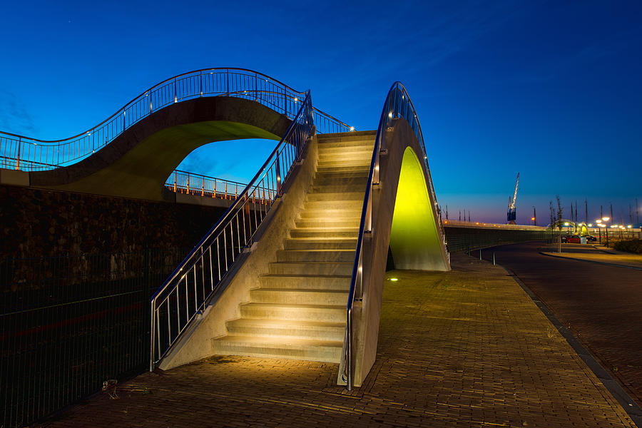 Outdoor Photograph - Heavenly Stairs by Chad Dutson