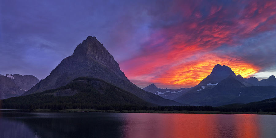 National Park Photograph - Heavens Ablaze by Andrew Soundarajan
