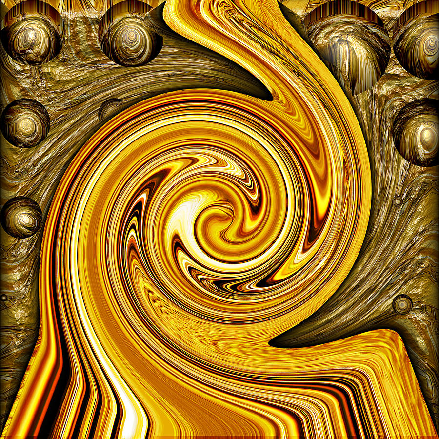 Heavy Metal 2 Digital Art  - Heavy Metal 2 Fine Art Print