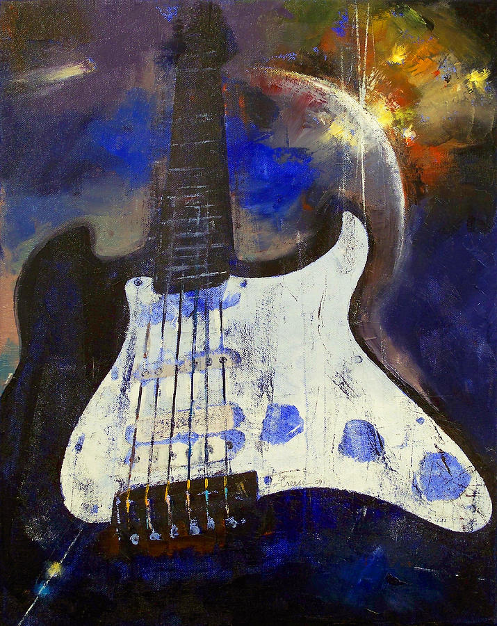Universe Painting - Heavy Metal by Michael Creese