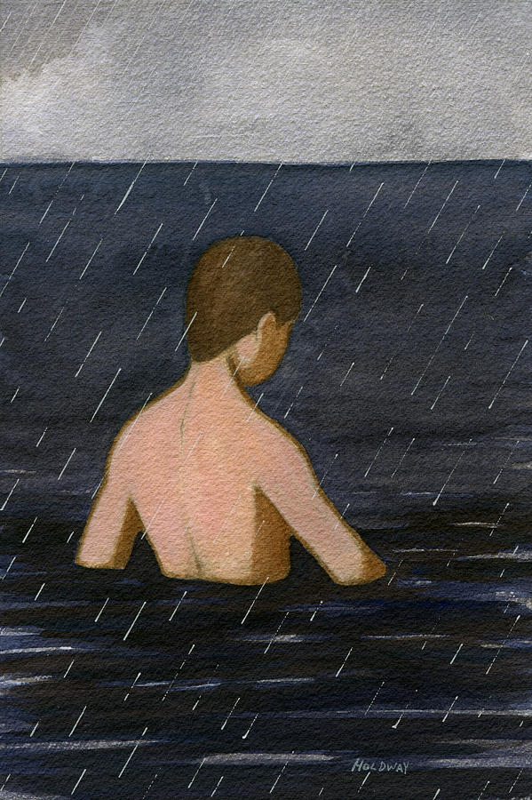 Heavy Rain Painting
