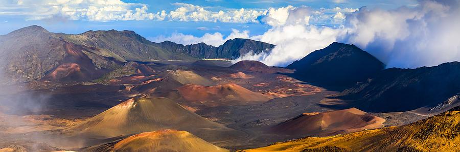 Heleakala Crater Photograph - Heleakala  by Radek Hofman