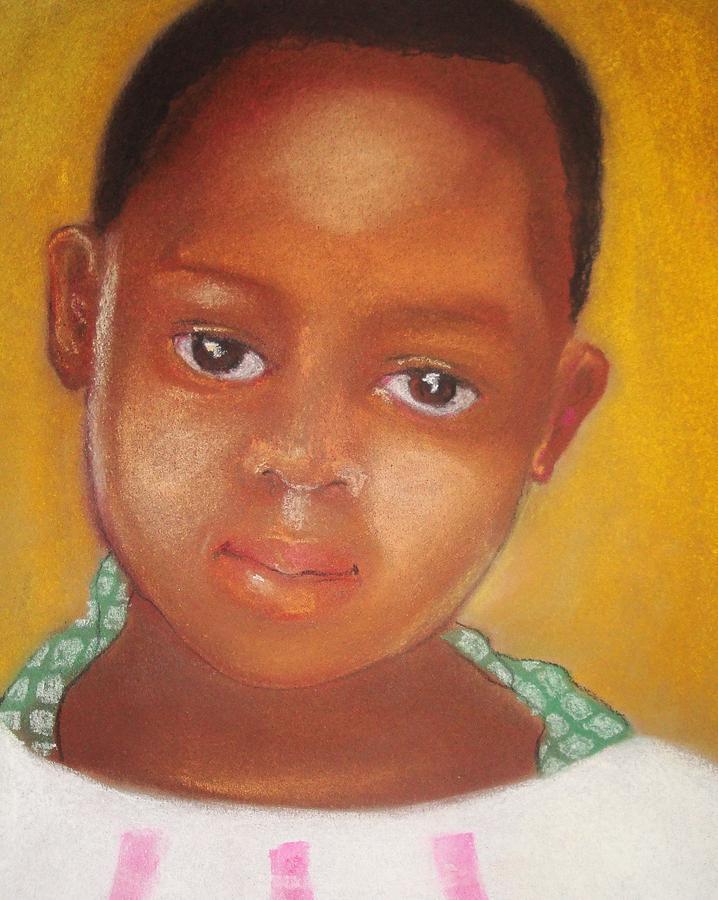 African American Drawing - Helene by Terri Ana Stokes