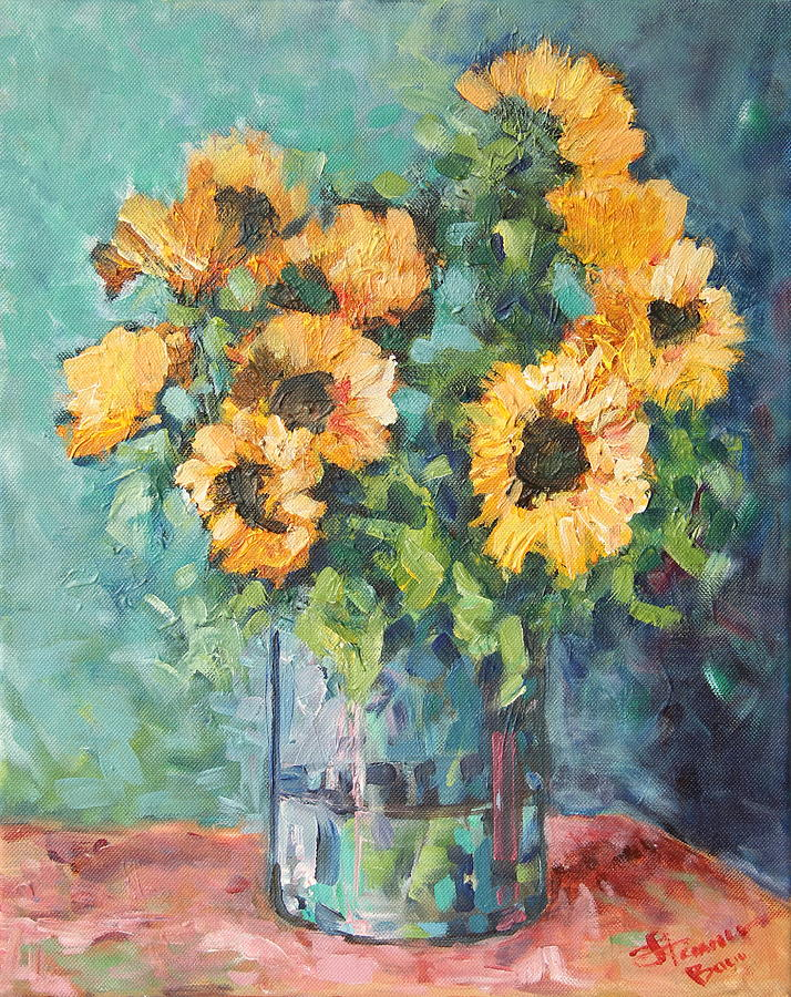 Helianthus Painting