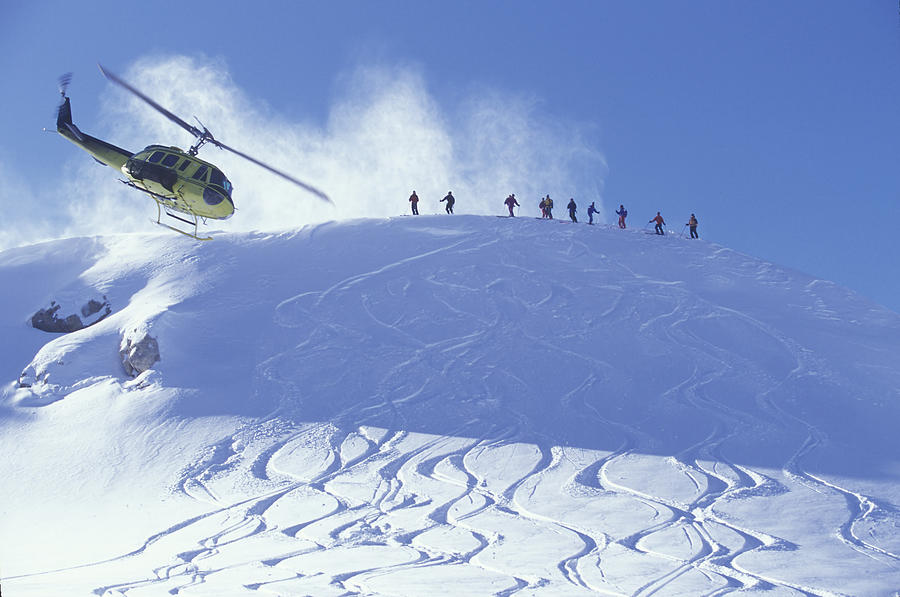Whistler (BC) Canada  city photo : ... Photograph Heliskiing, Whistler, Bc, Canada by Insight Photography