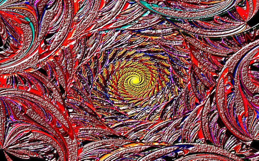 Hellooooo-oooo-ooo-oo-o Digital Art by Janet Russell