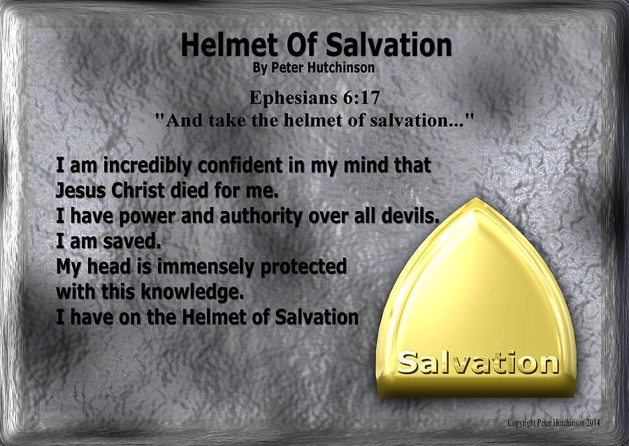 The helmet of salvation