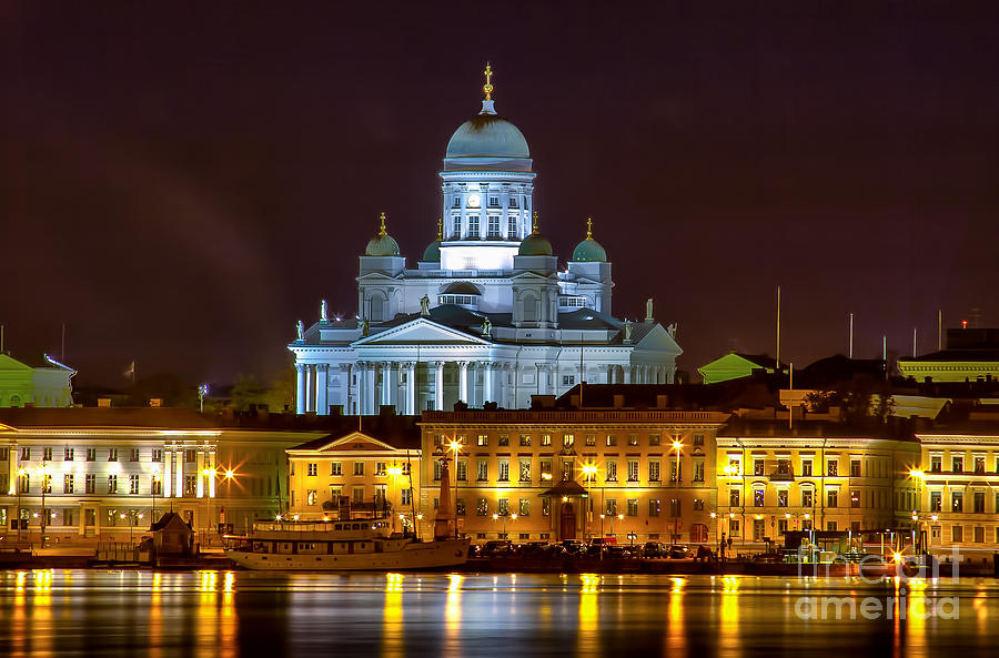 Helsinki Cathedral Photograph