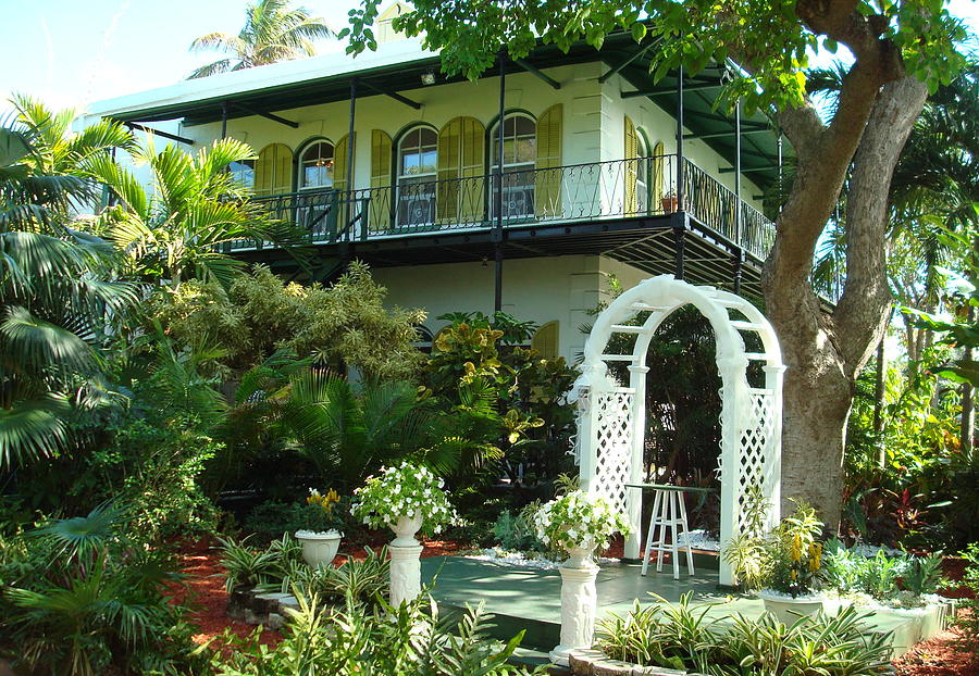 Hemingway House Photograph