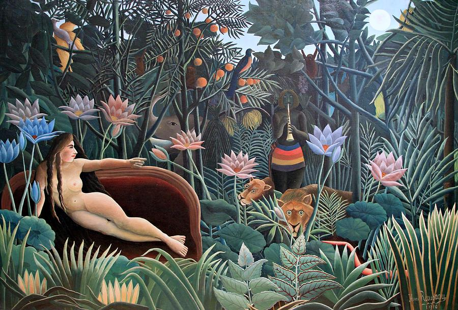 henri rousseau the dream 1910 painting by movie poster prints