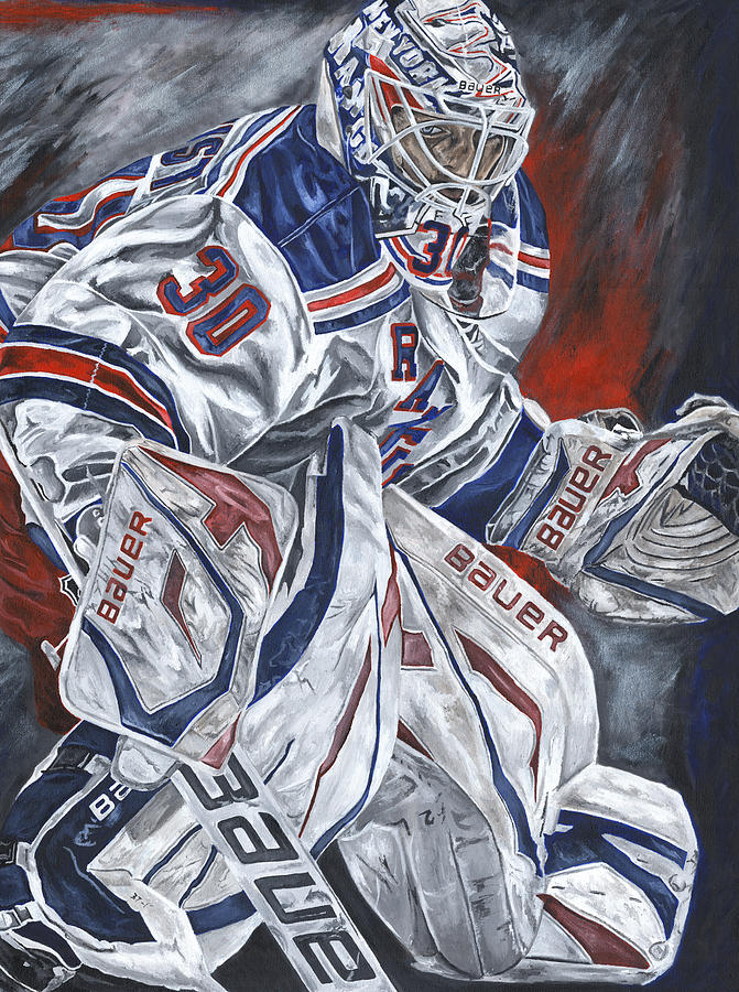 Henrik Lundqvist Painting  - Henrik Lundqvist Fine Art Print