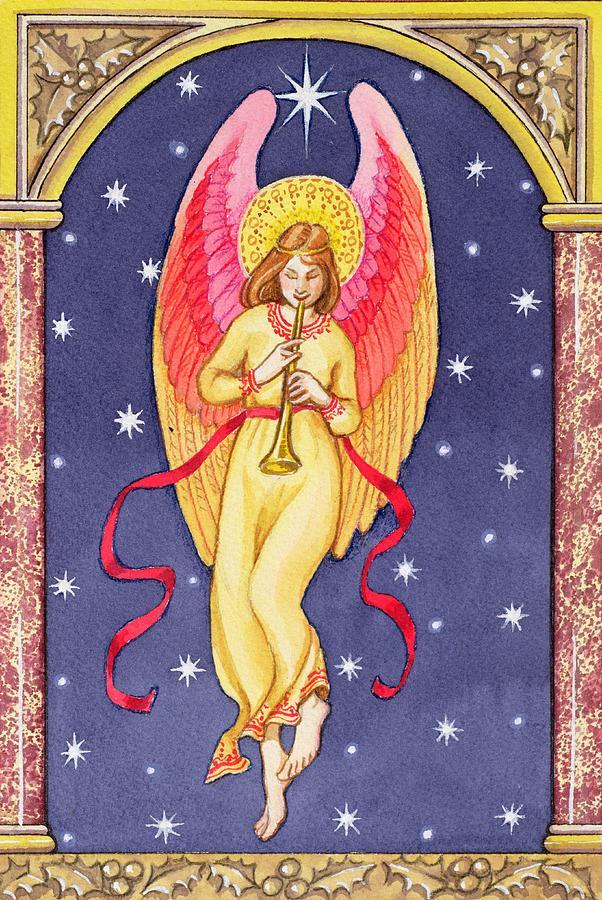 Herald Angel Painting