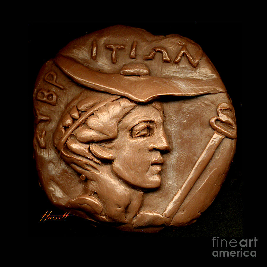 Hermes Or Mercury Sculpture  - Hermes Or Mercury Fine Art Print