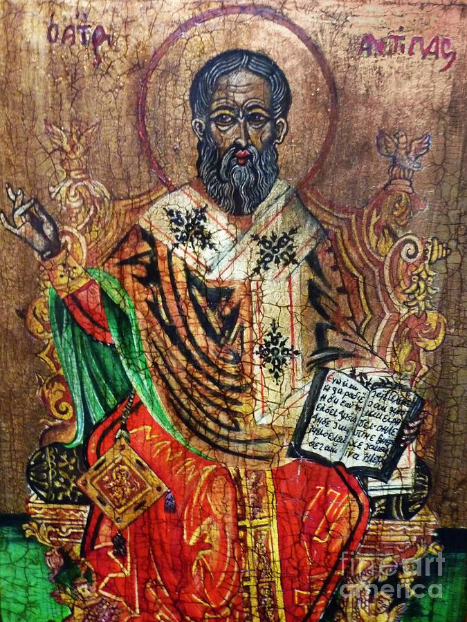 Herod Antipas Painting - Herod Antipas by Ryszard Sleczka