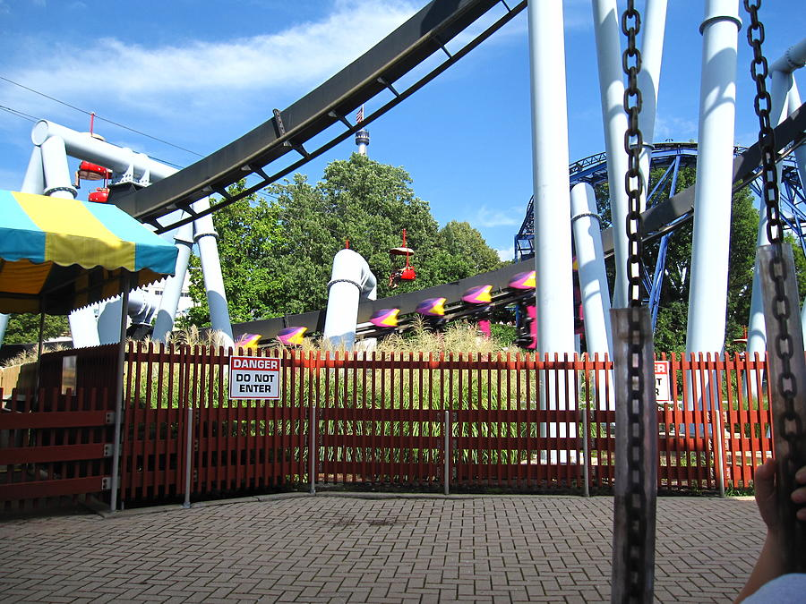 Hershey Park - Great Bear Roller Coaster - 121217 Photograph