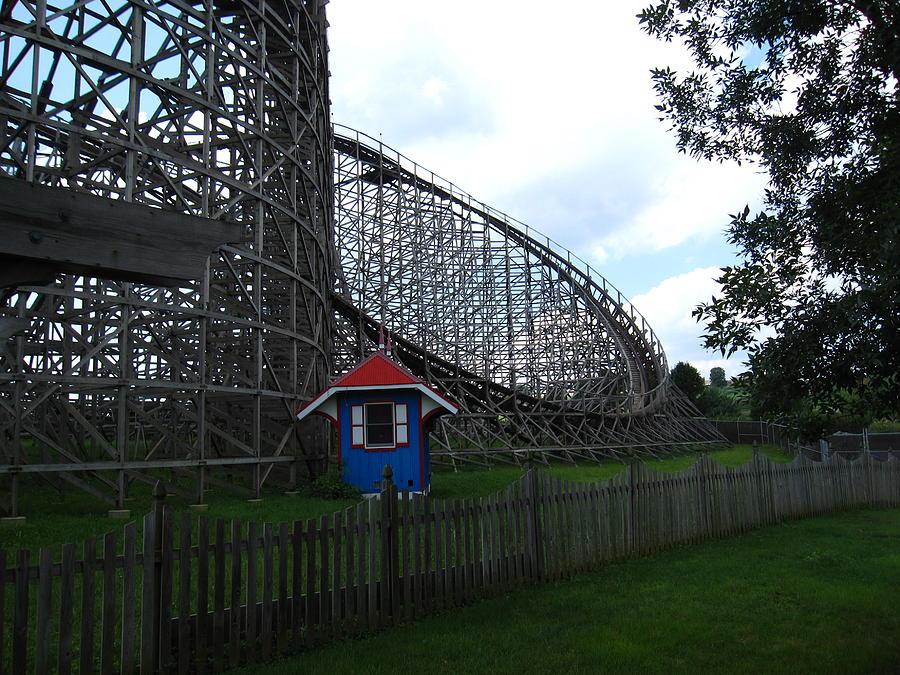 Hershey Park - Wildcat Roller Coaster - 12121 Photograph