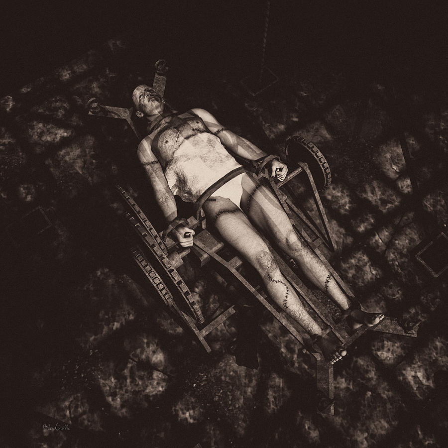 Frankenstein Photograph - Hes Alive by Bob Orsillo