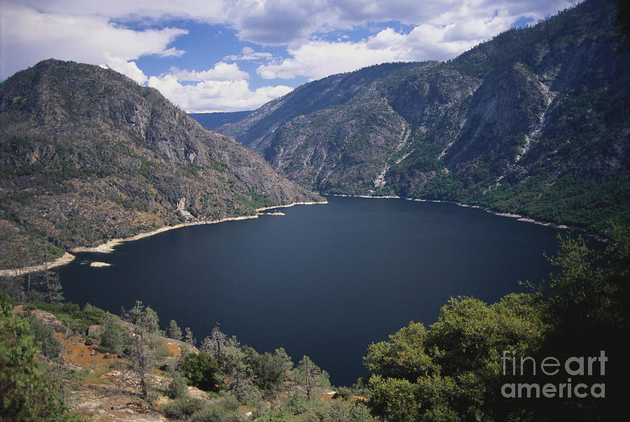 Hetch Hetchy Reservoir Photograph - Hetch Hetchy Reservoir by Mark Newman
