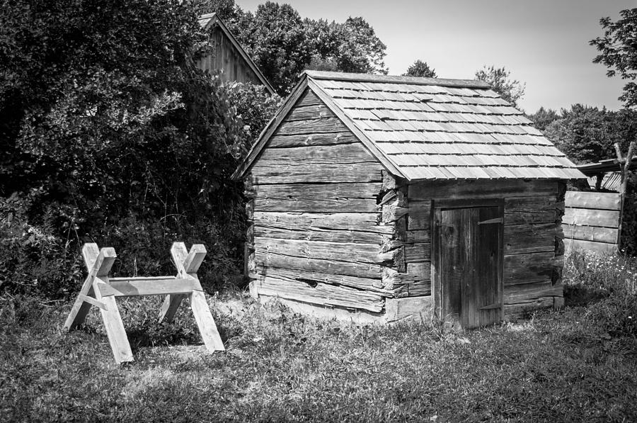 Hetchler House Shed Photograph  - Hetchler House Shed Fine Art Print