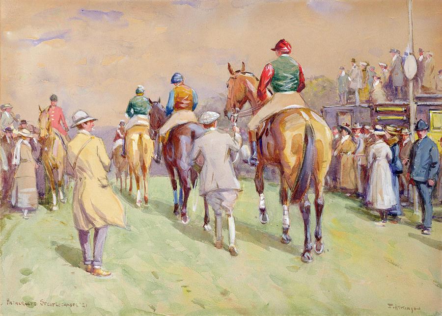 Hethersett Steeplechases Painting