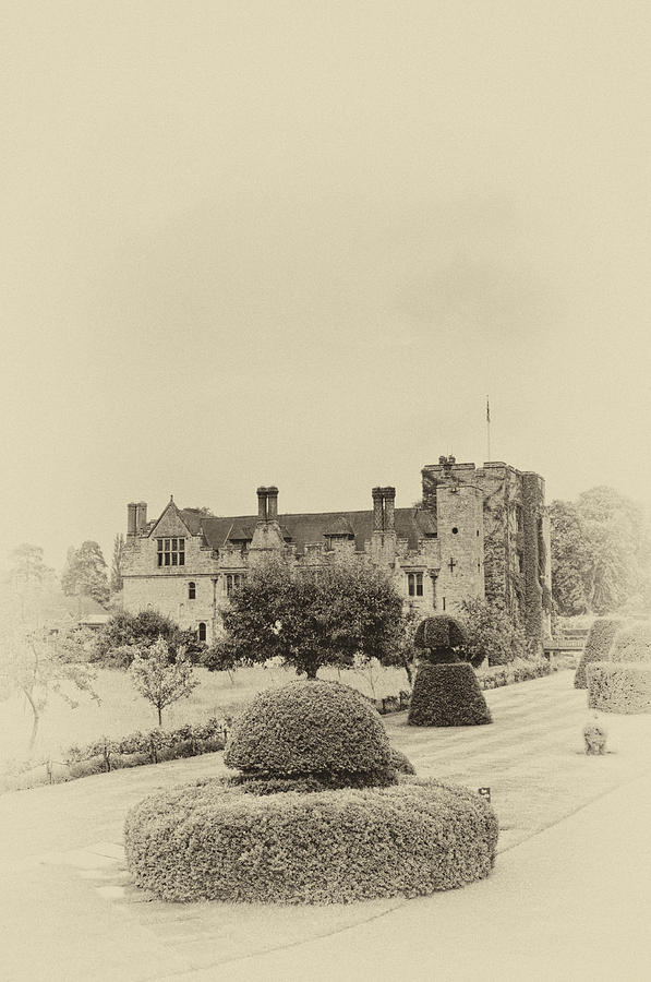 Hever Castle Yellow Plate 2 Photograph