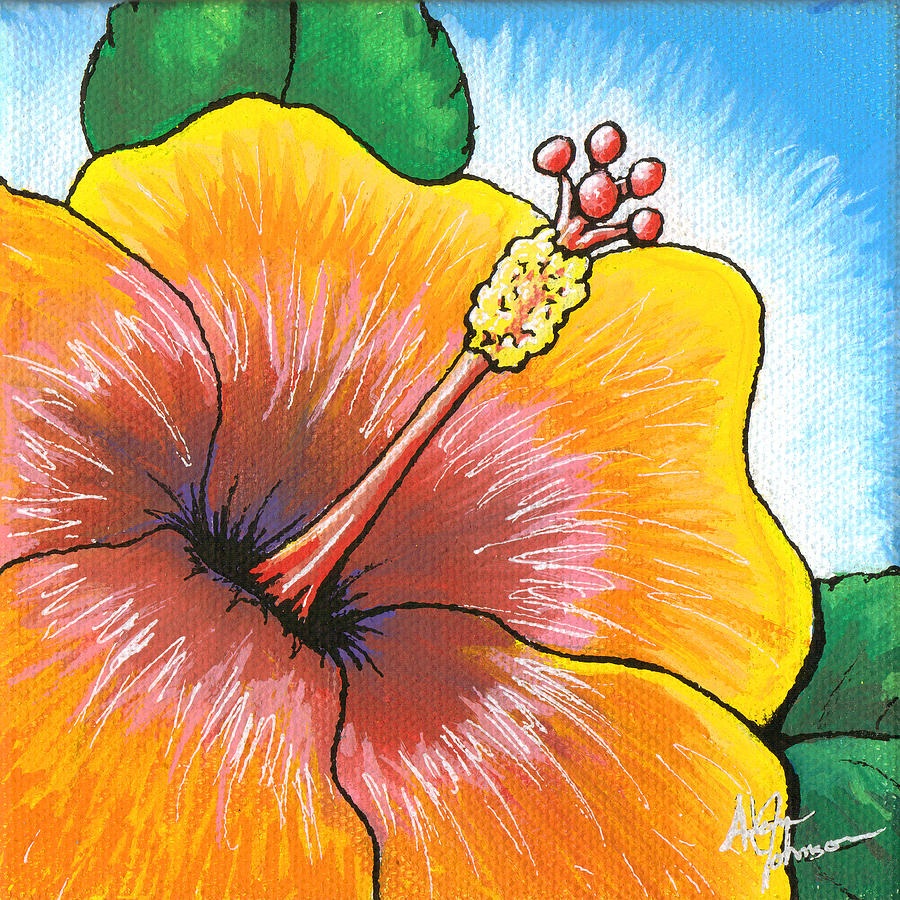 Hibiscus Number 2 Painting