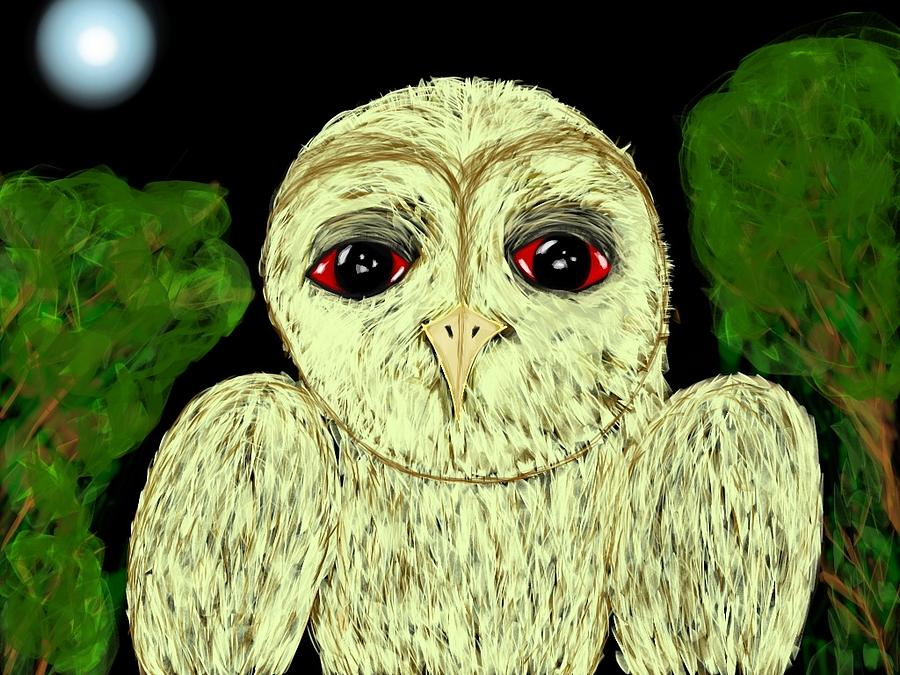 Hibou Digital Art