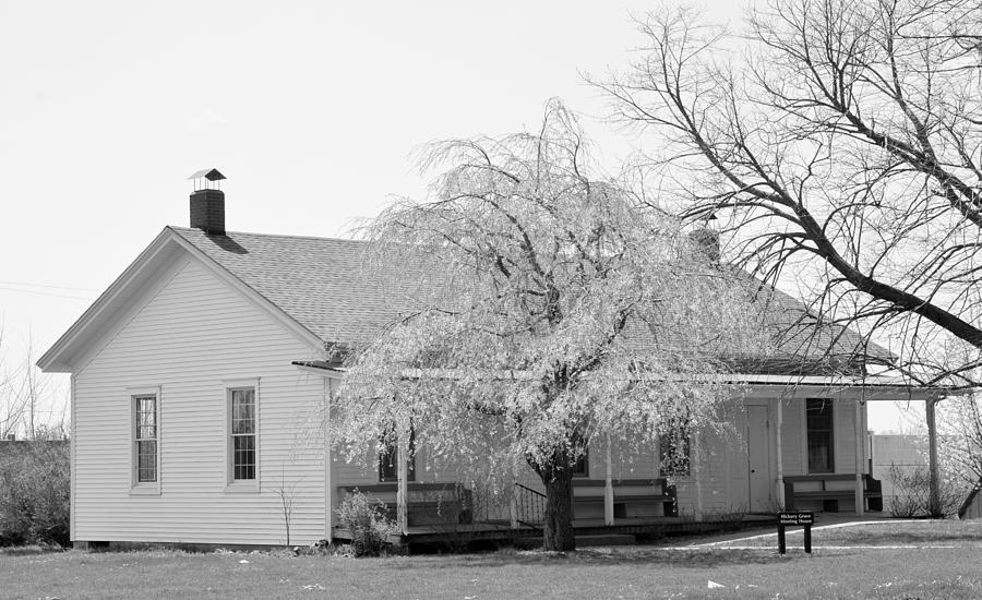 Quaker Photograph - Hickory Grove Meeting House by Corrie Blackshear