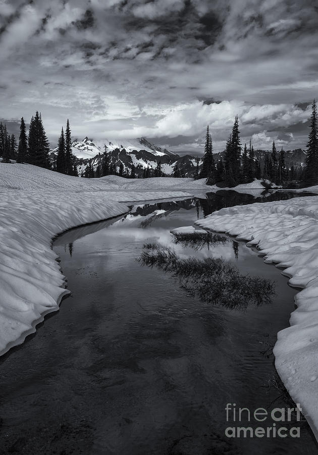 Hidden Beneath The Clouds Photograph