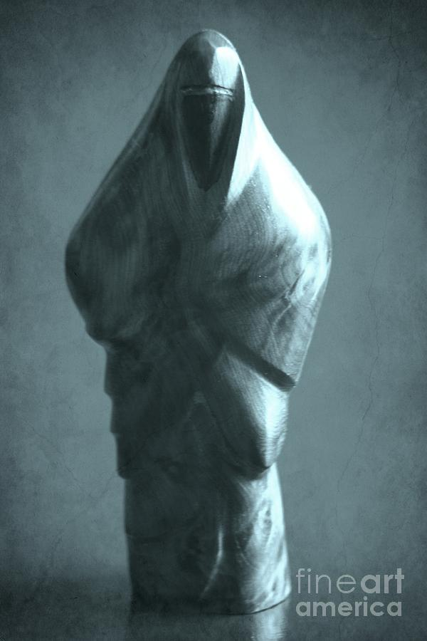 Woman Photograph - hidden Identity by Sophie Vigneault