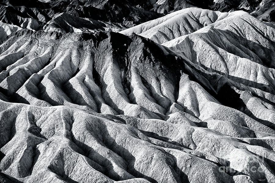 Hiding Places At Death Valley Photograph - Hiding Places At Death Valley by John Rizzuto