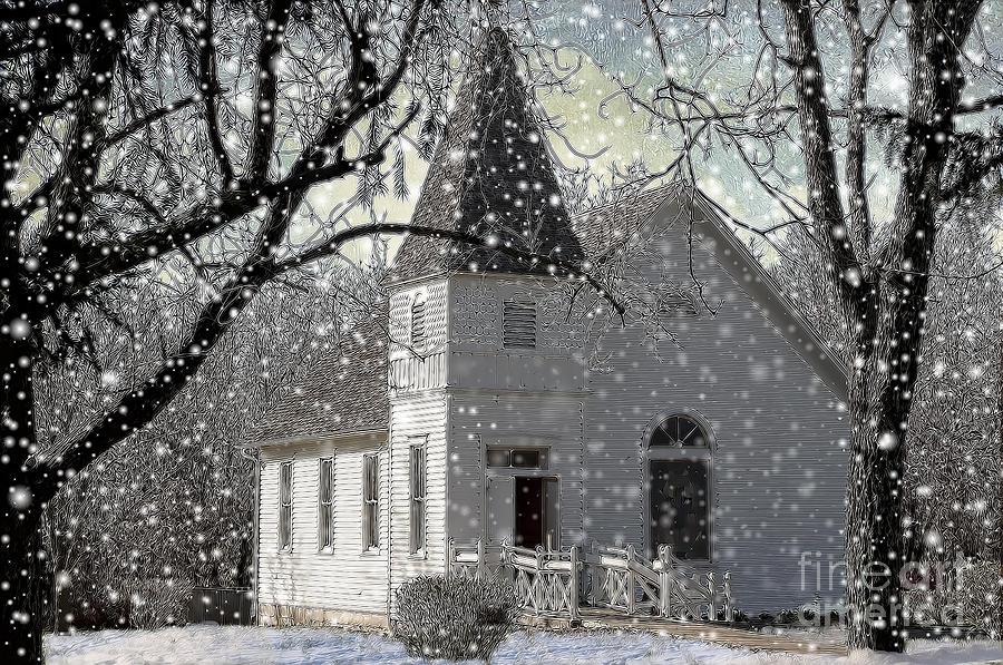 Higgensville Church Photograph