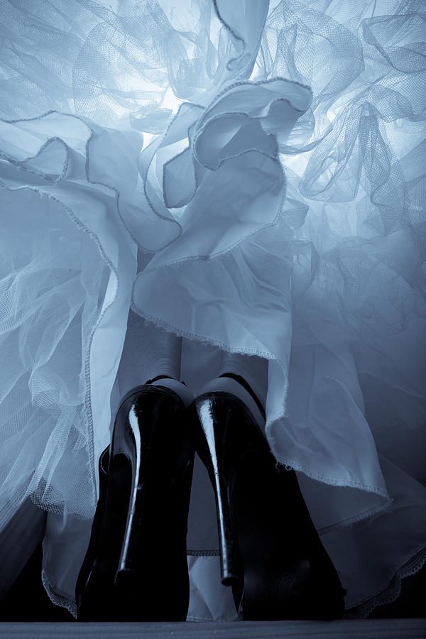High Heels And Petticoats Photograph  - High Heels And Petticoats Fine Art Print