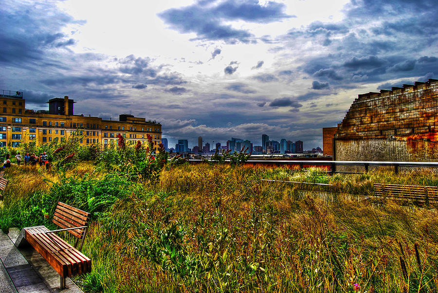 High Line On The Hudson Photograph  - High Line On The Hudson Fine Art Print