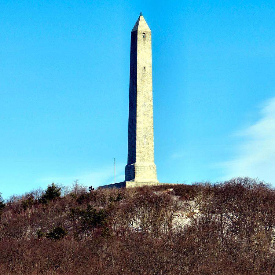 High Point Monument Nj Photograph by Art Dingo