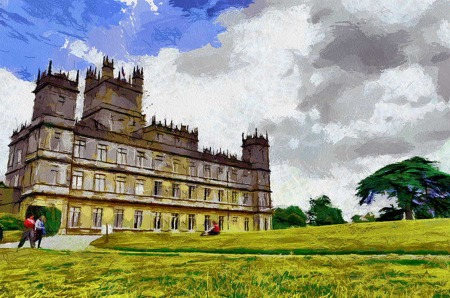 Highclere Castle Painting by Georgi Dimitrov