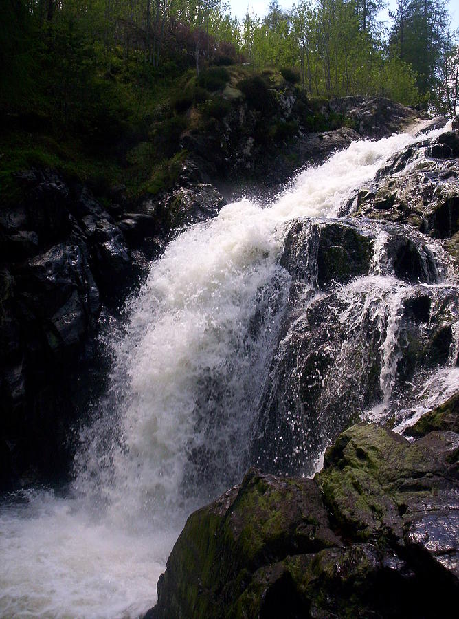 Highland Waterfall Photograph