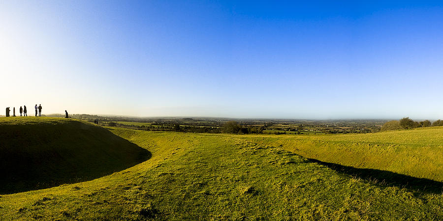 Hill Of Tara - Landscape Panorama Photograph