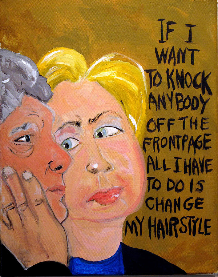 Hillary Painting - Hillary by Jennie Cooley