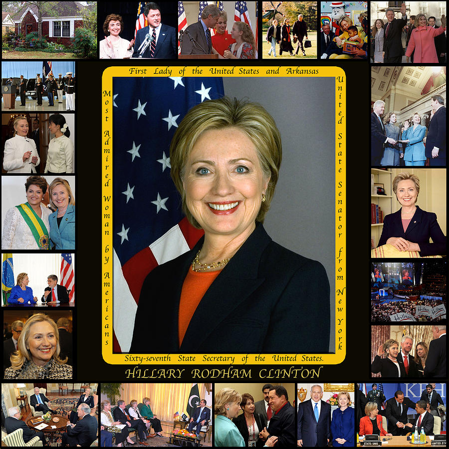 Hillary Rodham Clinton        Photograph