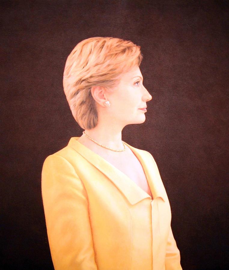 Hillary Rodham Clinton Up Close Photograph