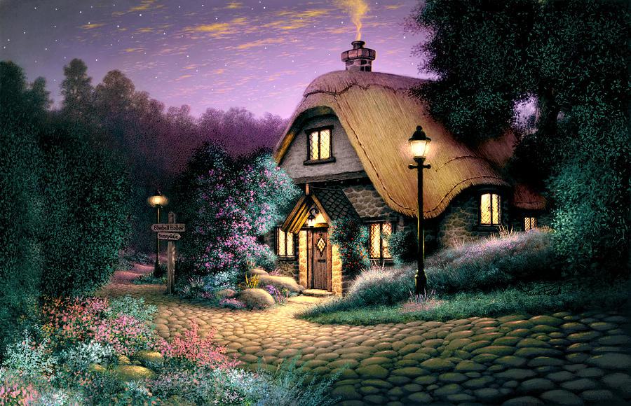 Architecture Photograph - Hillcrest Cottage by Steve Read