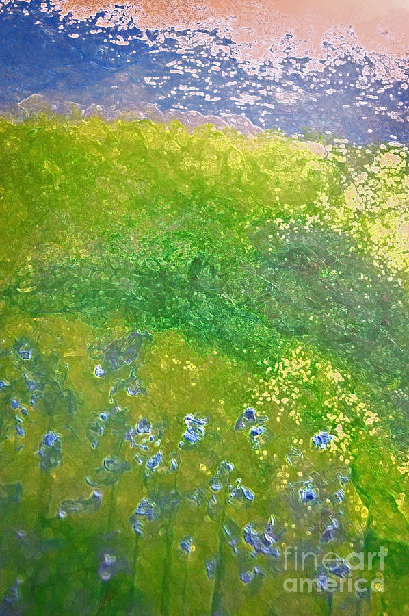 Hillside By Jrr Painting